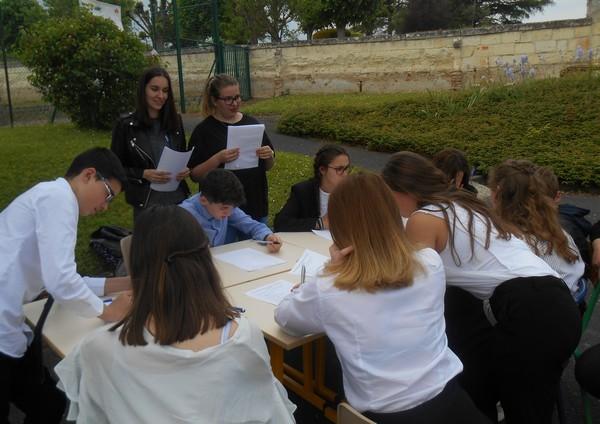 Europe Day : animation sur l'Europe au collège Sainte Anne